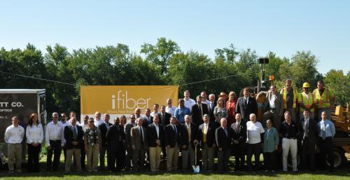 iFiber Groundbreaking